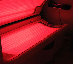 Red Light Thrapy Bed at Soleil Bronze tanning spa & boutique