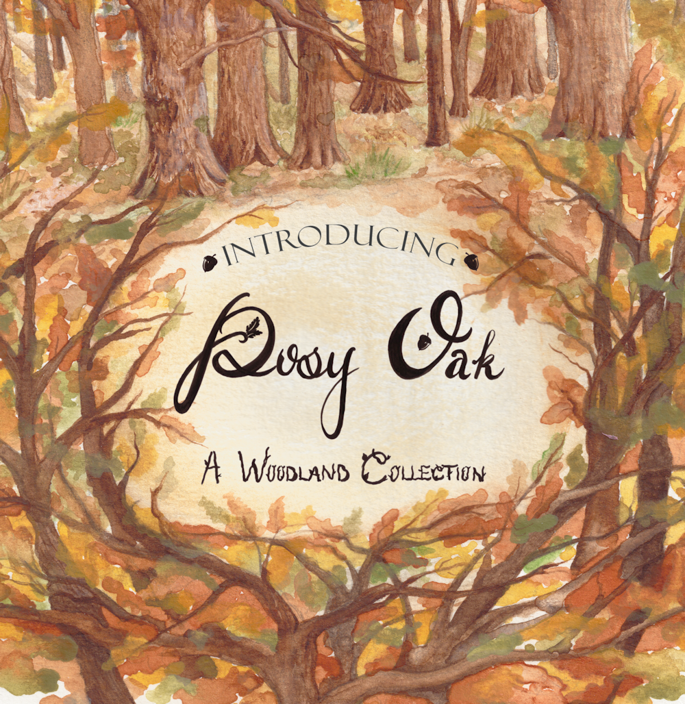 Introducing Posy Oak - A Woodland Collection - Grey's Posy