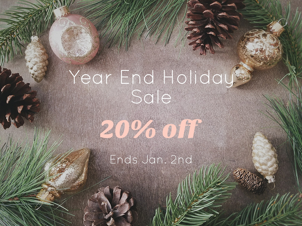Year End Holiday Sale 20% Off | Grey's Posy