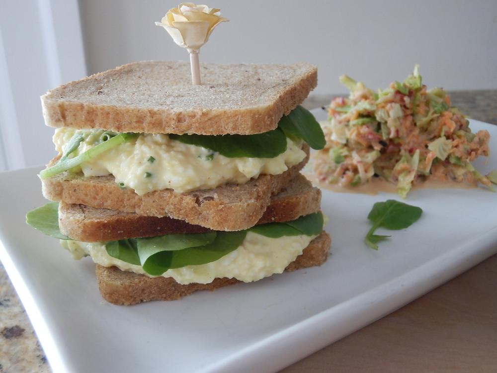 - Recipe - Egg and Cress with Crisp Veggie Slaw - Grey's Posy