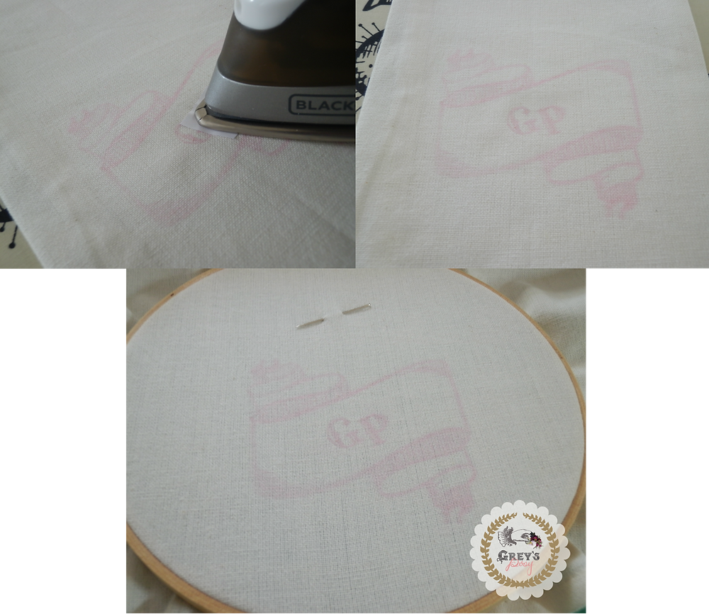 Embroidery Pencil Transfer