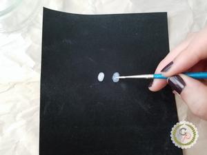 Applying Masking Fluid | Grey's Posy