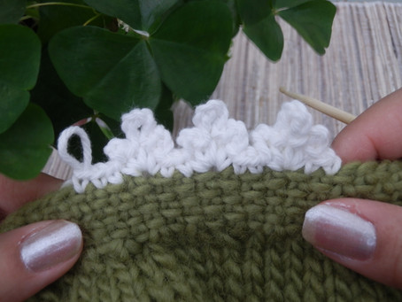 Trefoil Picot Edging (crochet)
