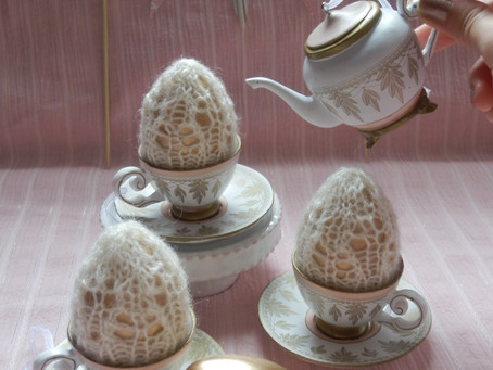 Lacey Egg Cozies