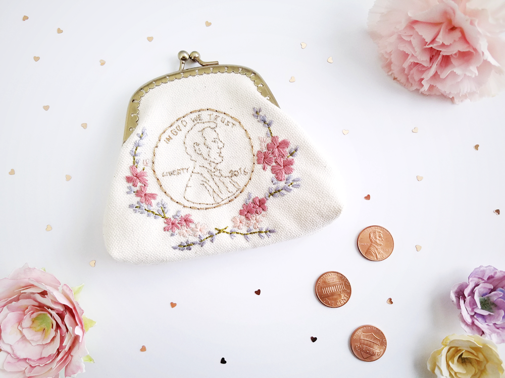 A Pretty Penny Coin Purse | Grey's Posy