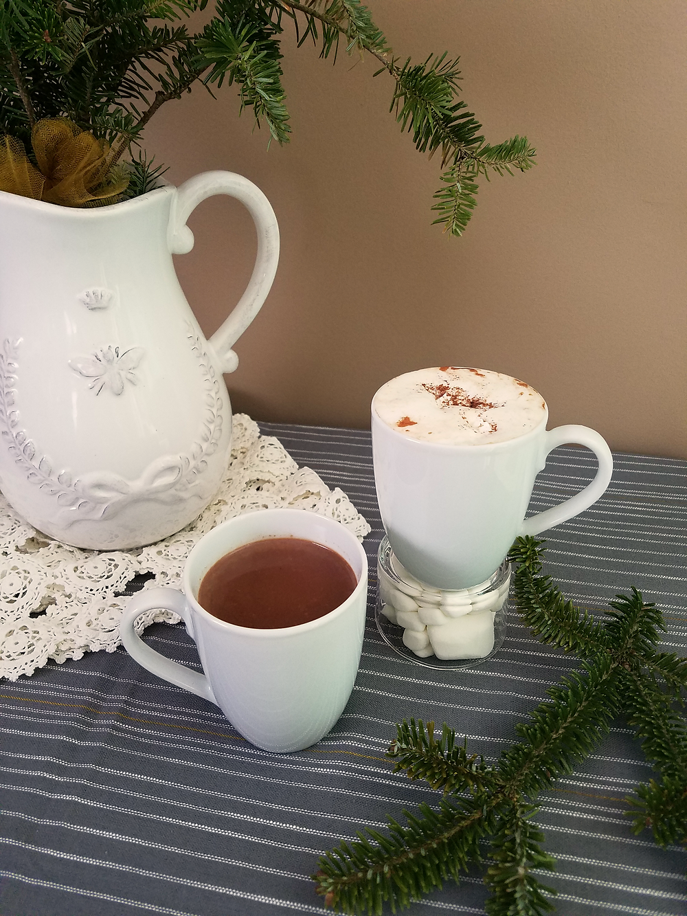 Chai Spiced Hot Chocolate - Recipe - Grey's Posy