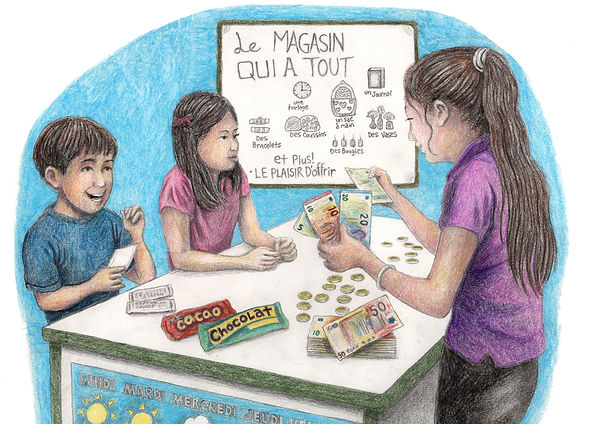 French Group Updated with Color Pencil E