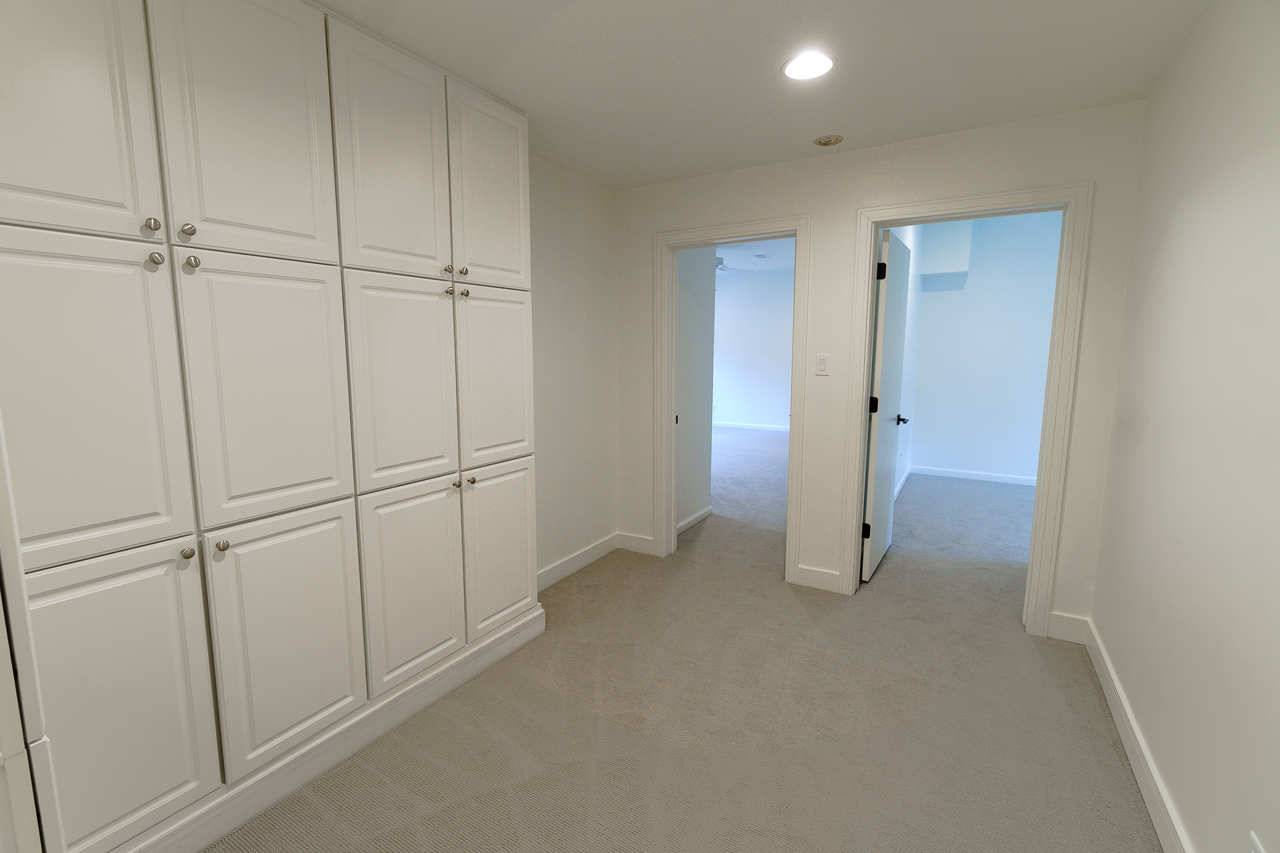 Upstairs Hallway Storage