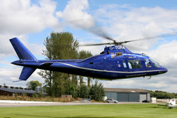 Agusta 109 hovering gear-up!