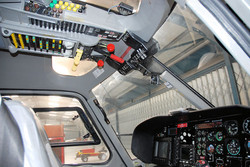AS355 overhead cockpit panel
