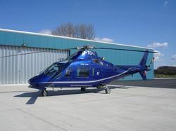 A109 outside Tiger hangar