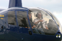 R44 student doing conversion