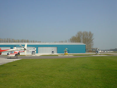 Finished Hangar