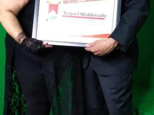 Gran Reconocimiento a Raquel Maldonado!