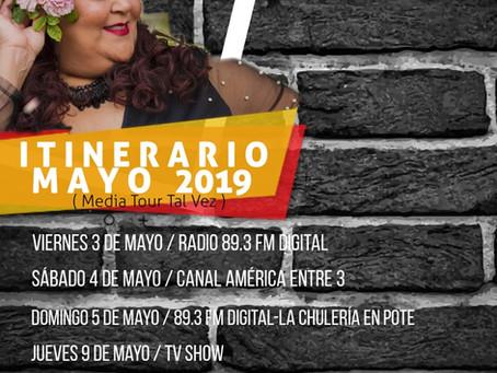 Tal Vez Tour - Mayo 2019