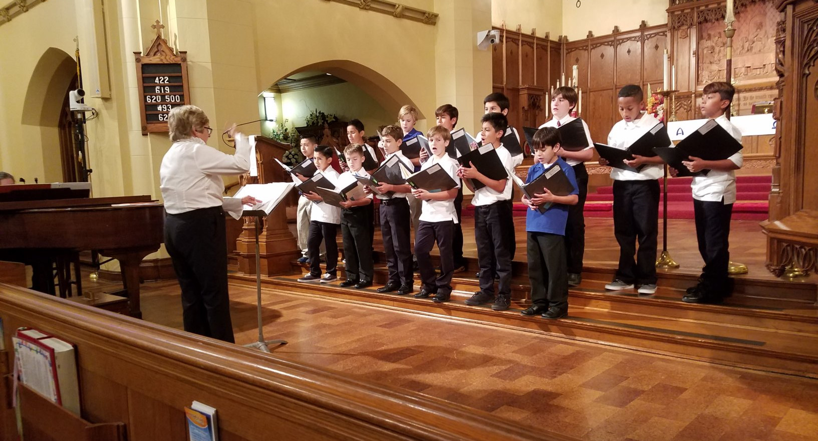 CBSA Performing with former Director Mary Ann Winden