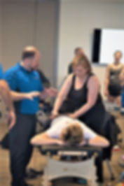 Todd Capistrant, DO, of FDM Academy, teaching Fascial Distortion Model manual therapy (FDM).