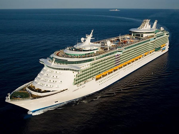 """Royal Caribbean's """"Liberty of the Seas"""" cruise ship, where attendees of FDM Academy's Advanced Caribbean Cruise will learn groundbreaking manual therapy in Fascial Distortion Model"""