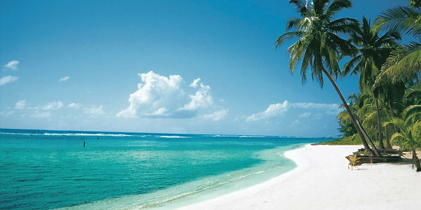 White sand beaches you could be enjoying if you signed up for FDM Academy's Advanced Caribbean Cruise Fascial Distortion Model manual therapy class.