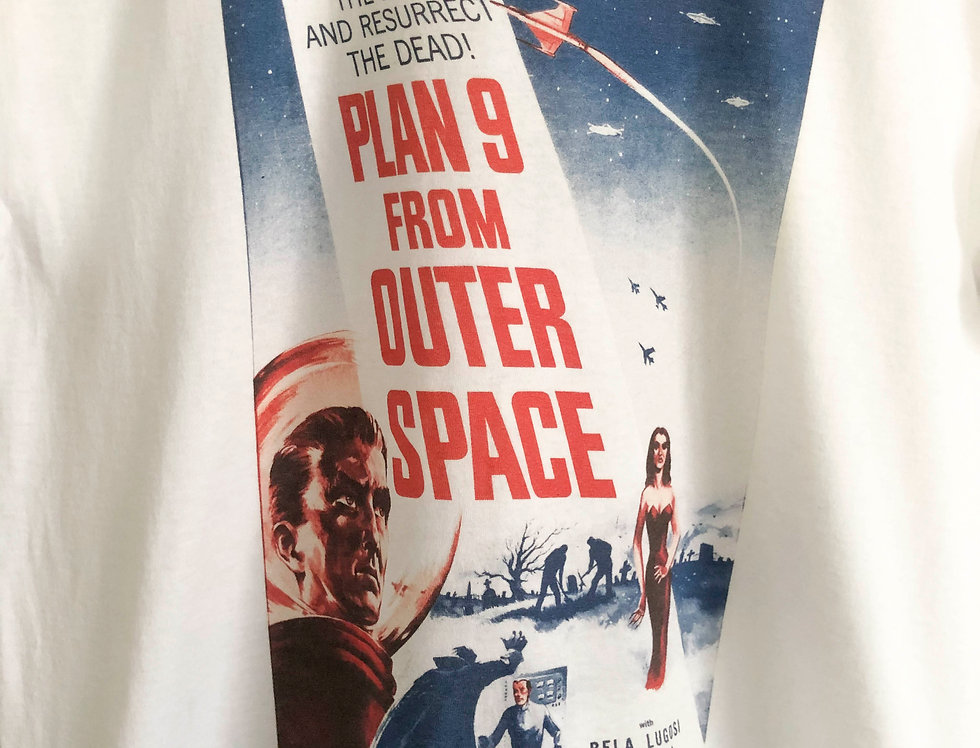 CAMISETA PELICULA PLAN 9 FROM OUTER SPACE