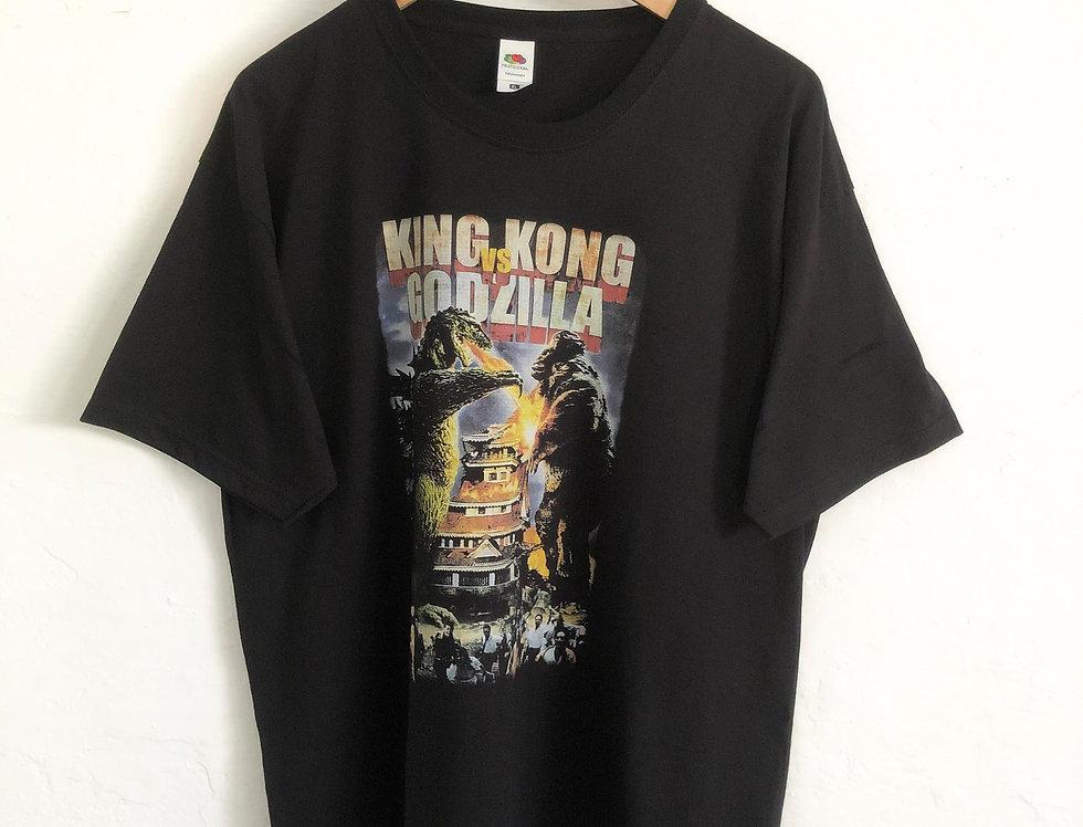 CAMISETA PELICULA KING KONG vs GODZILLA