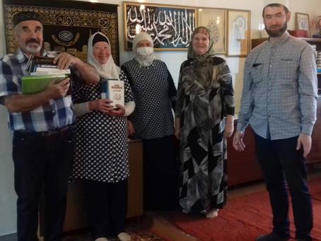 Помощь литературой общине г. Ошмяны
