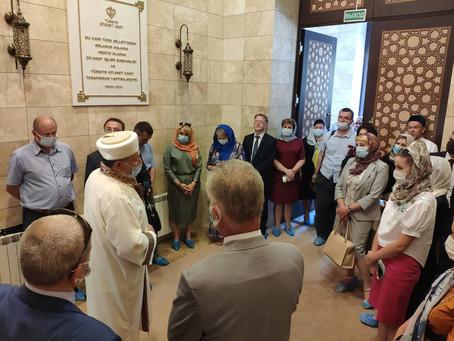 Визит коллегии аппарата Уполномоченного по делам религий и национальностей
