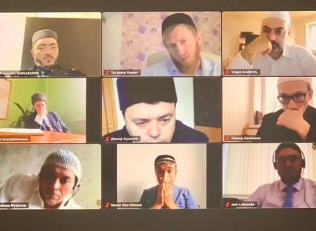 Участие МРО в РБ в онлайн заседании совета улемов Духовного управления мусульман Российской Федераци