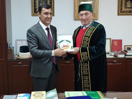 Прием гостей из Узбекистана