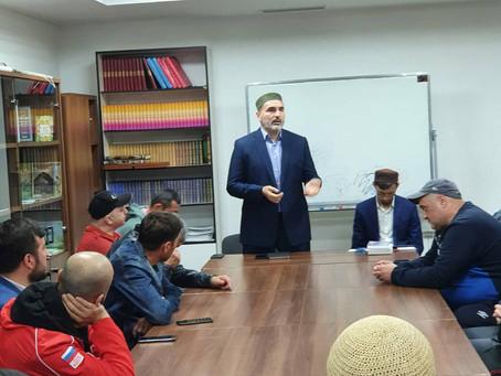Встреча дагестанской и таджикской диаспор