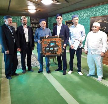 Встреча с муфтием Дагестана