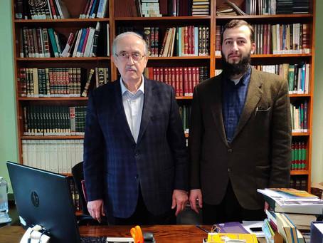 Встреча с профессором Таййар Алтыкулач