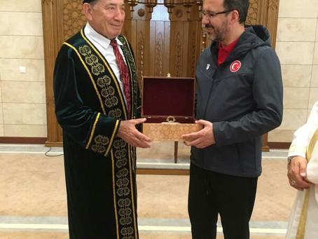 Визит министра спорта Турции