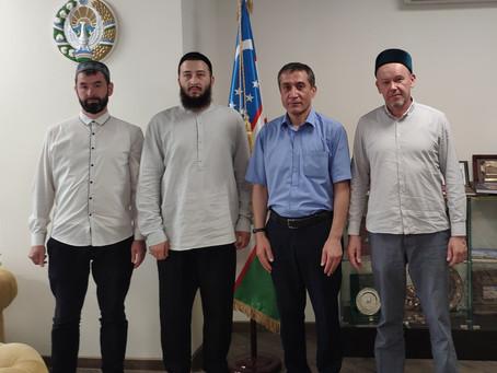 Визит в посольство Узбекистана