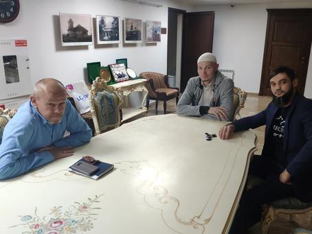 Визит имама Зарифа в Минскую мечеть