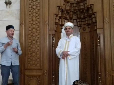 Мустафа хазрат Такас завершил свою работу в Беларуси