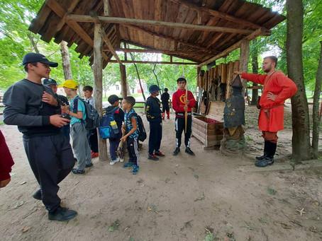 Выезд лагеря на экскурсию