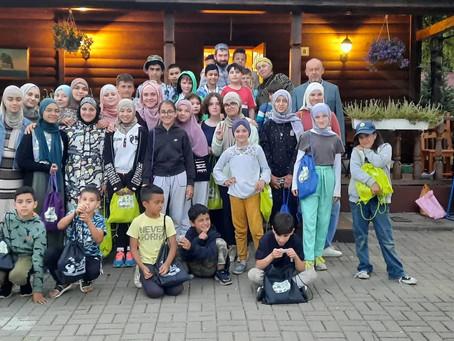 Завершение лагеря