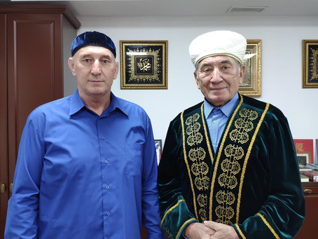 Встреча с представителем ДУМ ЧР