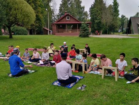 Первый день лагеря
