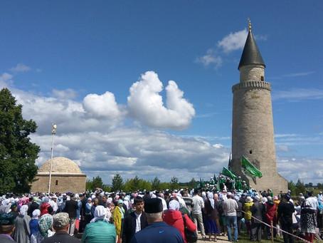 Имамы Минской Соборной мечети посетили городище Булгар
