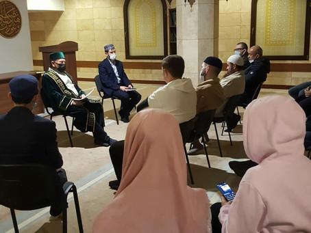 Собрание с представителями общин