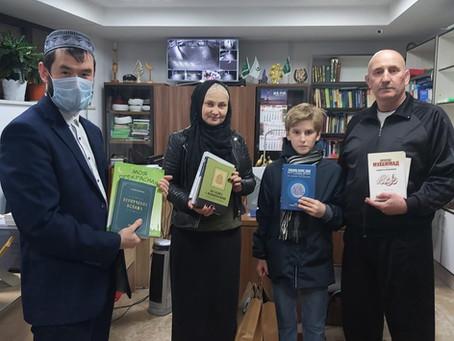 Помощи литературой общине Могилёва