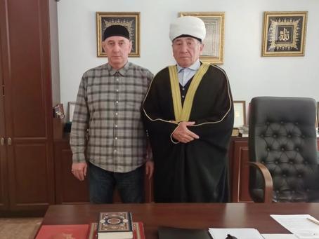 Соболезнование муфтию ДУМ ЧР