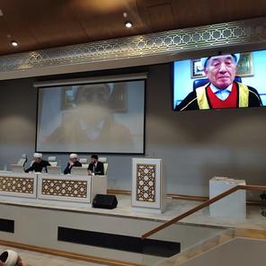 Участие муфтия в пленуме ДУМ РФ