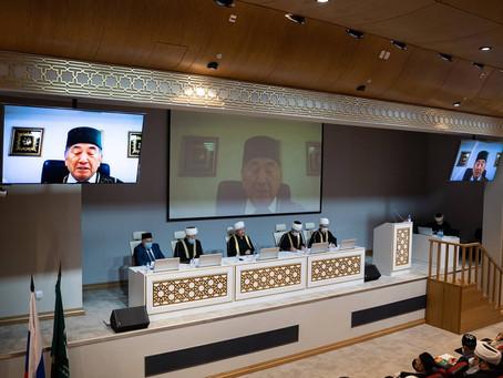 Участие МРО в РБ в онлайн заседании пленума ДУМ РФ
