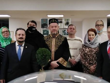 Визит в Минскую Соборную мечеть