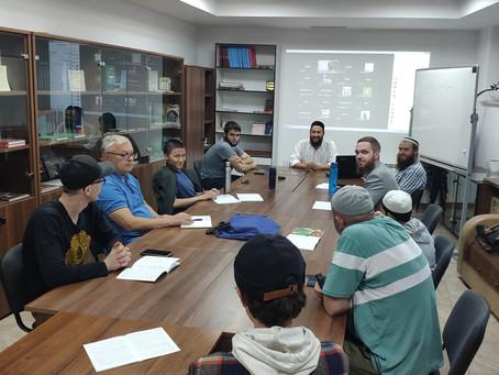 Уроки в мечети