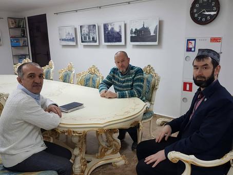Встреча с председателем диаспоры Азербайджана