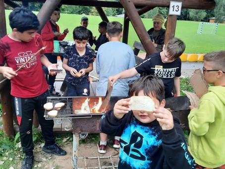 Активный день в лагере